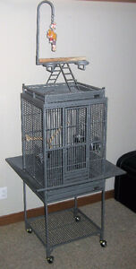 Large bird cage, easy to clean, Includes accessories Asking $250