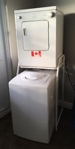 Whirlpool - Stackable Washer and Dryer Set - $225.00