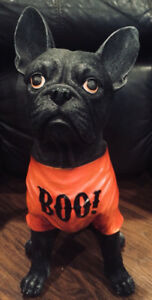 Halloween Frenchie Statue - LOOKING FOR