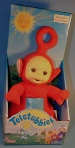 "Vintage Talking Teletubbies PO 14"" Doll 1998 Playskool"