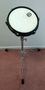 Dixon Practice Pad ( PDP1511 ) and Network Cymbal Stand