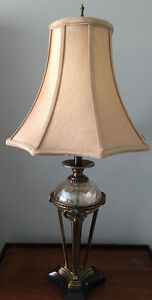 Mint Condition 2 beautiful lamps from Bombay Company $200 total