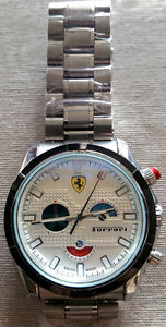 White Ferrari Automatic Hand watch for mens London Ontario image 4