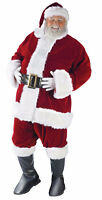 Santa Claus Velvet Suit for RENT ------- $70 for up to 24 Hours