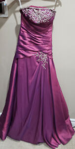 Magenta Coloured Grad Dress *** Brand New**