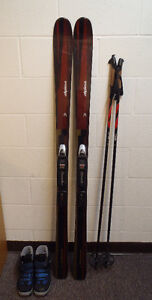 Alpina Back Country Cross Country Ski Package