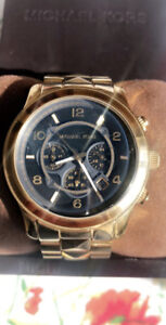 Michael Kors Gold Watch/ Montre Or Michael Kors