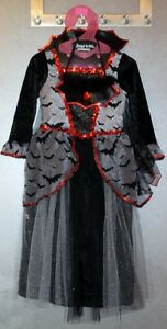 Girl's Vampire Costume 3-4 years old
