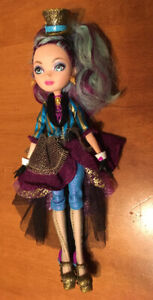 Ever after high dolls poppy Madeline Lizzie briar raven cerise