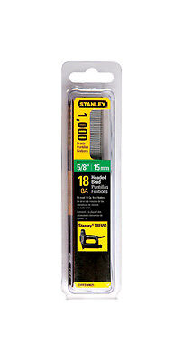 Stanley 5 8  15Mm 18Ga Brad Nails  1 000 Pack