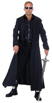 Matrix Neo Reloaded Blade Mantel Kostüm Dracula Vampir Herren Halloween Gothic