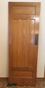 Antique oak door - 1920s