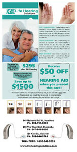 Free TV box and Hearing Test when you buy hearing aids from US