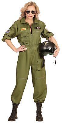 Army Kampfpilotin Kostüm für Damen - Kampfpilotin Kostüm