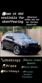 Bmw X5 40D Available For Chauffeuring 👔