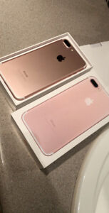 iPhone 7 Plus 128gb rose gold mint condition