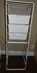 Shelving with drawers - Negotiable