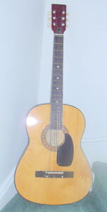 for sale/trade acoustic guitar with case
