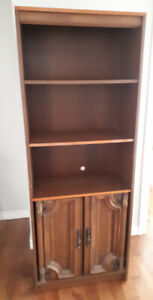 BOOK CASE AND TV STAND FREE