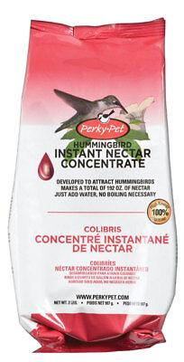 New Perky-Pet Hummingbird Red Nectar Food Concentrate Sucrose 2 lb. Makes 192 oz