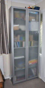 Frosted Glass Doors (for Ikea bookcase)