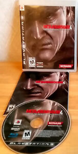 PS3 Metal Gear Solid 4:Guns of the Patriots