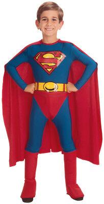 Superman Jumpsuit with Cape Child Boy's Costume - Toddler 2T-4T - Superman Costume Toddler 2t 4t