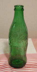 Bouteille verte en verre Coca-Cola / Coke #3