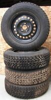 Goodyear Nordic Winter Tires P195 / 70 R14 with Steel Rims