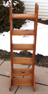 Solid Pine Curio Shelf