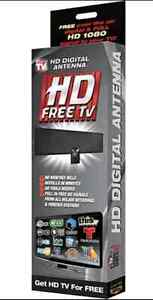 HD tv antenna lots of free Channels ABC, TVO, NBC, CBS, and more