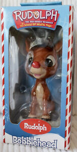 NEW Rudolph the Red-Nosed Reindeer Rudolph Bobblehead