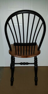 solid pine Fan Back Colonial Wood Chair :Sturdy & Comfortabe Cambridge Kitchener Area image 2