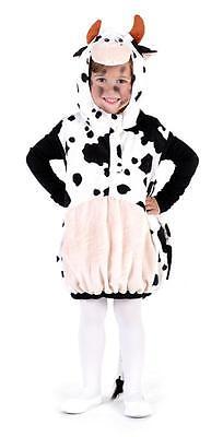 Kuhweste Kuh Kühe Kostüm Overall Plüsch Milch Kuhkostüm Tier Kleid Hose - Milch Kostüm