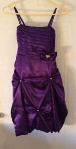 Silky Purple Dress for kids
