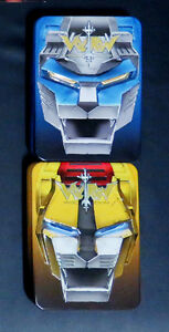 2 VOLTRON special edition tin case dvds: Blue & Yellow Lion