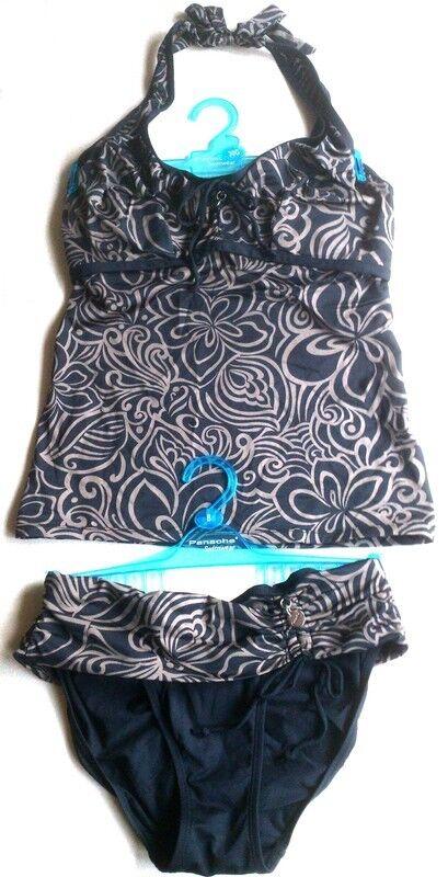 Panache Amalfi Tankini 65G 30G + Slip 34 (UK 8) - Badeanzug Bikini freya floral