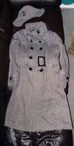 Brand New Soft Wool ladies coat long (below knee) very stylish!
