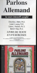 Parlons Allemand Le cours interactif complet + 2 CD-ROM