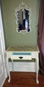 Lovely Vanity / Dressing Table with mirror and stool