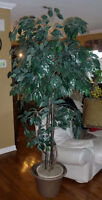 Home decor - Large artificial 6.5 foot tree