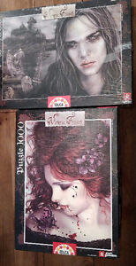 Victoria Frances - Butterfly(unopened) & Tears on Ice - Puzzles