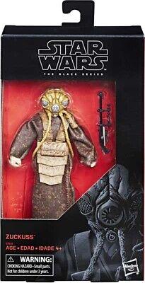 Star Wars The Black Series - Bounty Hunter Zuckuss Action Figure