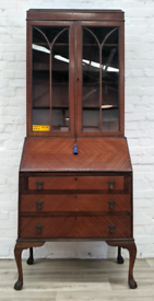 Mahogany Writing Bureau With Bookcase (DELIVERY AVAILABLE)