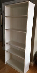 White 5-Shelf Unit