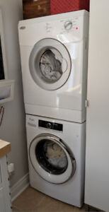 Whirlpool Compact Stackable Washing Machine,& FREE DRYER! +5Yr W