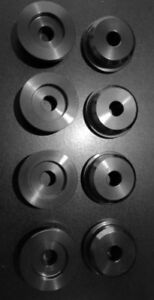 Z32 Nissan 300ZX Solid subframe bushings 8 pc kit