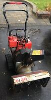 Craftsman gas snowblower, 20""
