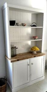 Modern Farmhouse Style Kitchen China Cabinet