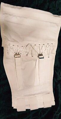 VINTAGE CAMP WHITE CORSET SUPPORT BRACE -MODEL 9073